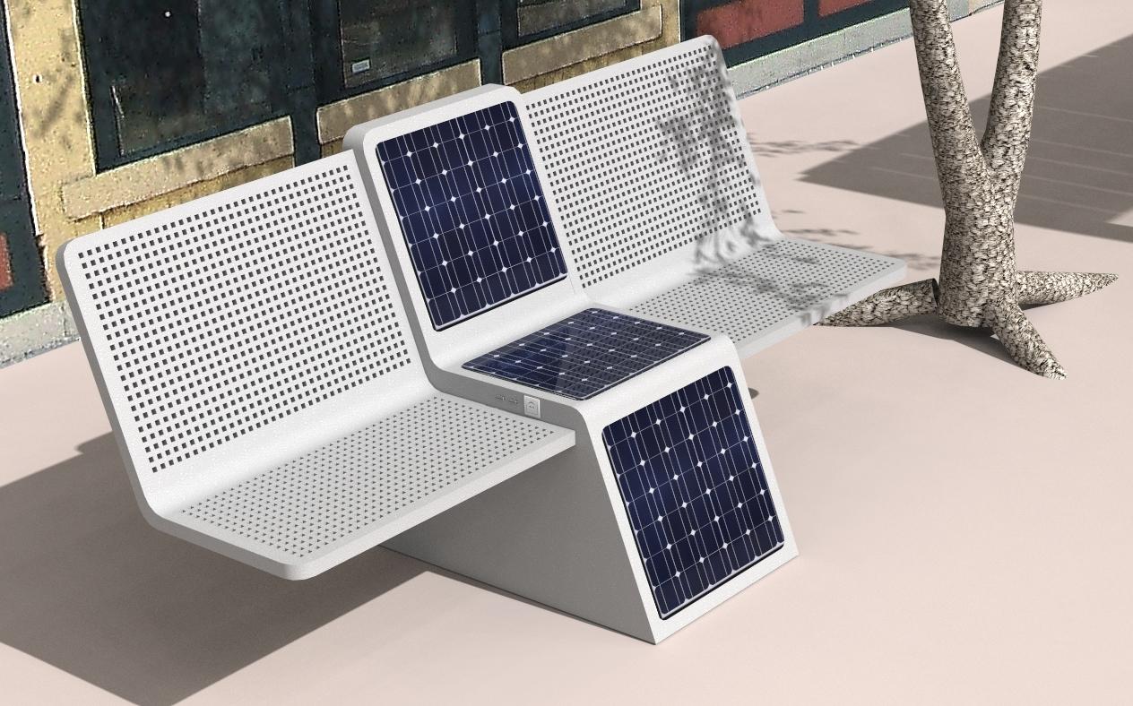 Solar Bench Energomobil