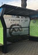 Vidovec ima prvu solarnu autobusnu nadstrešnicu u županiji, a postavljene i solarne klupe u Nedeljancu