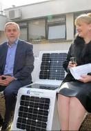 Solar benches in Zagreb